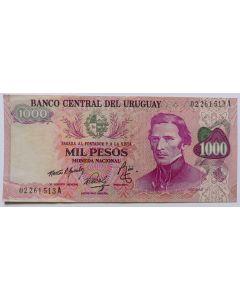 Uruguai 1000 Pesos 1974