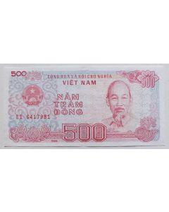 Vietnam 500 Dong 1988 FE