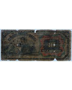 Brasil 10 Mil Réis 1907 - R104