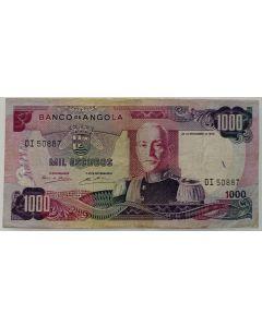Angola 1000 Escudos 1972
