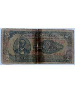 Brasil 2 Mil Réis 1921 - R087
