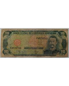 República Dominicana 10 Pesos Oro 1997