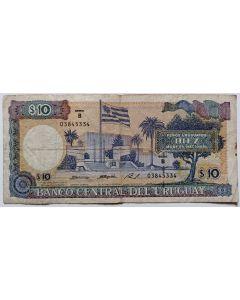 Uruguai 10.000 Nuevos Pesos 1987