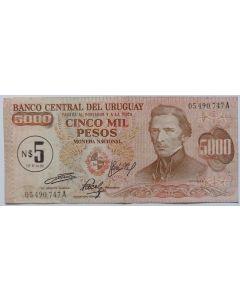 Uruguai 5 Pesos Nuevos  1975